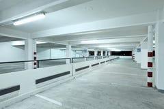 Indoor carpark Royalty Free Stock Photo
