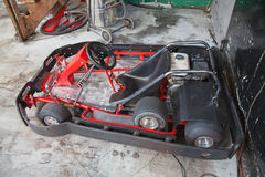 Indoor carting Stock Photography