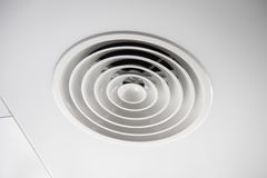 Indoor Clean Air Duct at office roof Royalty Free Stock Photo