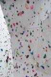 Indoor Climbing gym wall detail Stock Photos