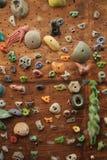 Indoor climbing wall Stock Photos