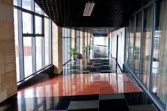 Indoor corridor Royalty Free Stock Images