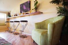 Indoor Cozy Bar Area Stock Photos