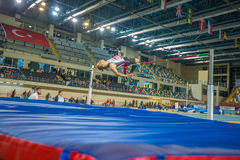 Indoor Cup Championships in Istanbul - Turkey. stock photography