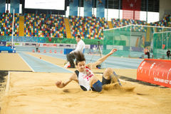 Indoor Cup Championships in Istanbul - Turkey. Stock Photos