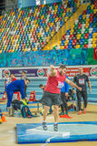 Indoor Cup Championships in Istanbul - Turkey. Stock Photo