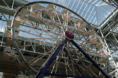 Indoor Ferris wheel. Ferris wheel inside the Mall of America stock images