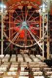 Indoor Ferris Wheel at the Palisades Mall. The indoor Ferris wheel at the Palisades Center Mall stands silent as the center prepares to close for the night Royalty Free Stock Images