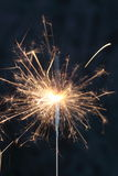 Indoor firework. An indoor sparkler firework that is sparkling Royalty Free Stock Images