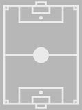 Indoor football court Royalty Free Stock Images
