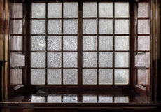 Indoor Frosted Window Stock Images