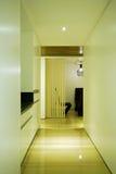 Indoor hallway Stock Image