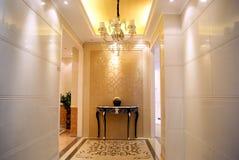 Indoor hallway Royalty Free Stock Photos
