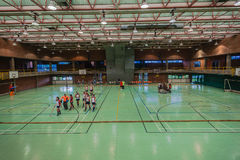 Indoor Hockey Venue Royalty Free Stock Photo