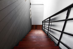 Indoor interior staircase Stock Images