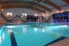 Indoor lap pool Royalty Free Stock Photo