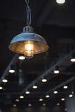 indoor light in coffee shop Stock Photo