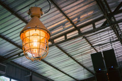 Indoor light, coffee shop Royalty Free Stock Photo