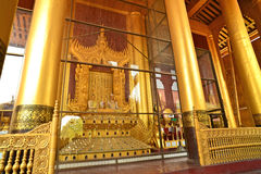 Mandalay Palace.Myanmar Royalty Free Stock Photos
