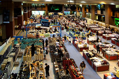 Indoor market, Singapore Royalty Free Stock Photography