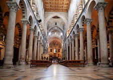Indoor Miracoli Square of Miracles, Pisa Royalty Free Stock Images