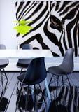 Indoor modern decor 3d illustration Stock Photos