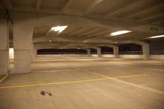 Indoor car park Stock Image