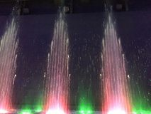 Indoor musical fountain, New Haven, Connecticut  Stock Image