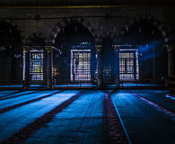 Indoor Of Ottoman turkish Mosque Royalty Free Stock Image