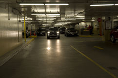 Indoor parking Royalty Free Stock Photos