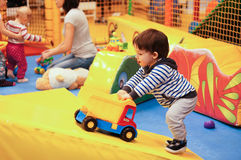 Indoor play ground Royalty Free Stock Photo