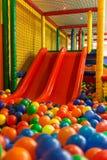 Indoor playground arena royalty free stock photo