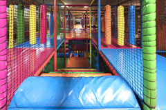 Indoor playground staircase Royalty Free Stock Photography