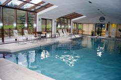 Indoor pool Stock Photos