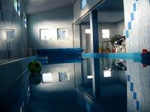 Indoor pool Stock Photography