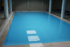 Indoor pool Stock Photo
