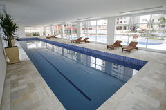 Indoor pool Royalty Free Stock Photo