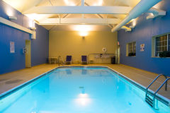 indoor pool Στοκ Φωτογραφίες