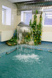 Indoor pool. With fresh flowing water Royalty Free Stock Photos