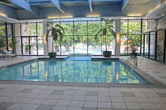 Indoor Pool Royalty Free Stock Photos