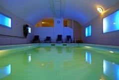Indoor pool. Beautiful view of Indoor pool Royalty Free Stock Image