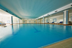 Indoor pool Royalty Free Stock Image