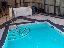 Indoor pool in a  hotel Royalty Free Stock Photo