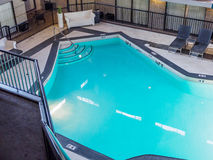 Indoor pool  in a hotel Royalty Free Stock Image