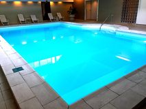 Indoor pool Royalty Free Stock Images
