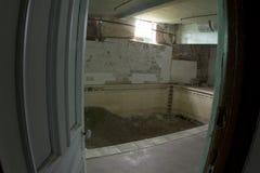 Indoor pool repairs Stock Image