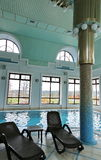 Indoor pool Stock Images