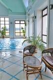 Indoor pool Stock Images