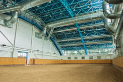 Indoor riding hall stock images
