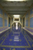 Indoor Roman Pool at Hearst Castle, San Simeon, California, where many celebrities went swimming Royalty Free Stock Image